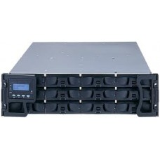 Eonstor DS 3000 Storage Infortrend com host board SAS, FC e Gigabit Ethernet com 12/ 24/ 48/ 60 discos