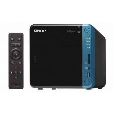 Qnap TS-453BT3 Storage Thunderbolt3 e 1/10 Gigabit Ethernet de 4 baias.
