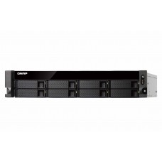|Qnap TS-831XU-RP |  Storage NAS de Rack | 8 baias | Fonte Redundante |