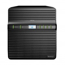 DS416j DiskStation Synology Storage NAS 4 baias 40 TB