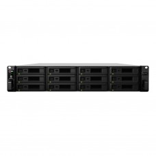 Synology RS3617xs+ Rackstation Storage Xeon Six Core 12 baias, até 168 TB